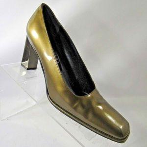Stuart Weitzman Sz 6 Green Heels Shoes For Women